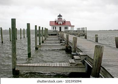Roanoke marshes lighthouse, Manteo