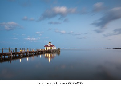 Roanoke Marshes Outer Banks Manteo North Carolina Lighthouse