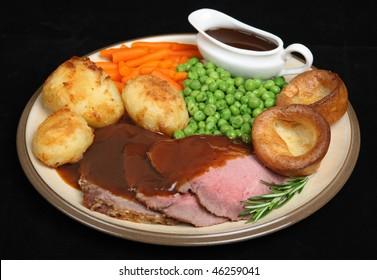 Image result for roast beef dinner
