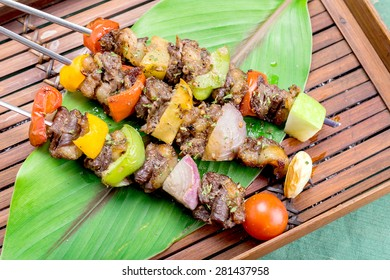 Roast Beef with Vegetables, BBQ