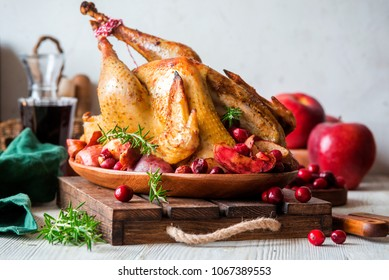 Roast home grown turkey for Christmas