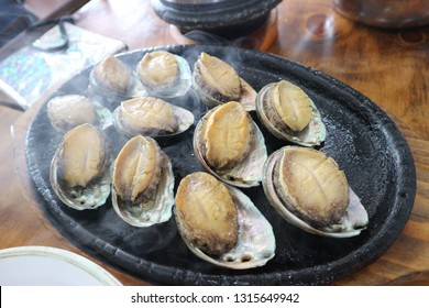 roasted abalone of korea