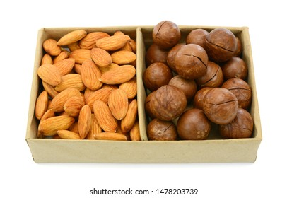 Roasted Almond nuts with Macadamia
