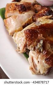 Roasted chicken thai food