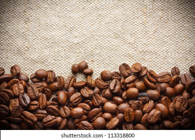 Roasted Coffee Border, Background
