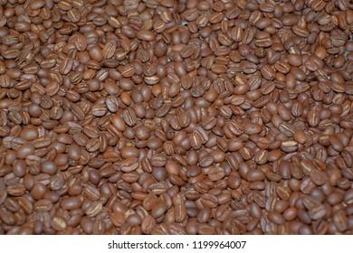 Roasted coffeebean arabica robusta