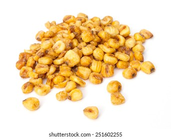 Roasted corn nuts