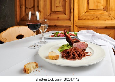roasted duck dish