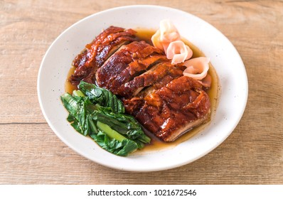 roasted duck on table - Asian food style