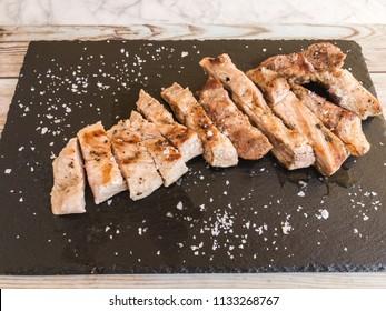 roasted iberian secret pork