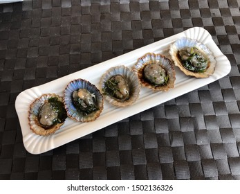 roasted limpets with coriander mojo