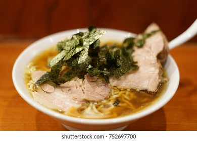 roasted pork fillet ramen