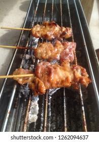 roasted pork in Thailand