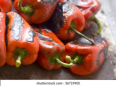 roasted red pepers