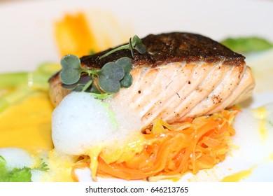 Roasted Smoked Salmon Smoked