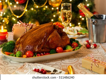 Roasted Turkey For Christmas Day