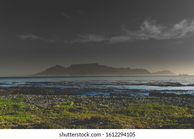 Robben Island to Cape Town view