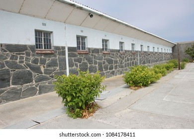 Robben Island, South Africa - March 24, 2006;  During apartheid Former South African President Nelson Mandela was incarcerated in this prison on Robben Island.