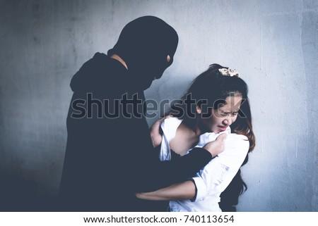 Words... robber assaults woman xxx be