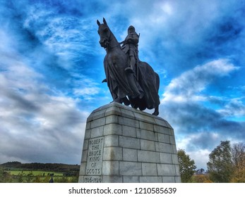 """Robert the Bruce - Travel back in time to the scene of Scotland's greatest battles """"The Battle of Bannockburn"""" where Scottish King Robert the Bruce defeated English troops against all odds in 1314."""