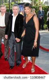 "Robert De Niro and Grace Hightower at the Los Angeles Premiere of ""Stardust"". Paramount Studio Theatre, Hollywood, CA. 07-29-07"