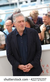 Robert De Niro at the photocall for Hands Of Stone at the 69th Festival de Cannes. May 16, 2016  Cannes, France