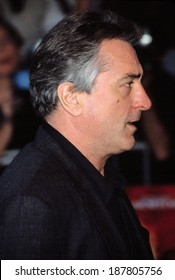 Robert DeNiro at the premiere of The Score, NYC, 7/11/01, NYC
