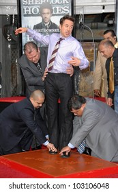 Robert Downey Jr. at Robert Downey Jr. Hand and Footprints Ceremony, Chinese Theater, Hollywood, CA. 12-07-09