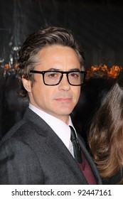"Robert Downey Jr.  at the ""Unknown"" Los Angeles Premiere, Village Theater, Westwood, CA. 02-16-11"