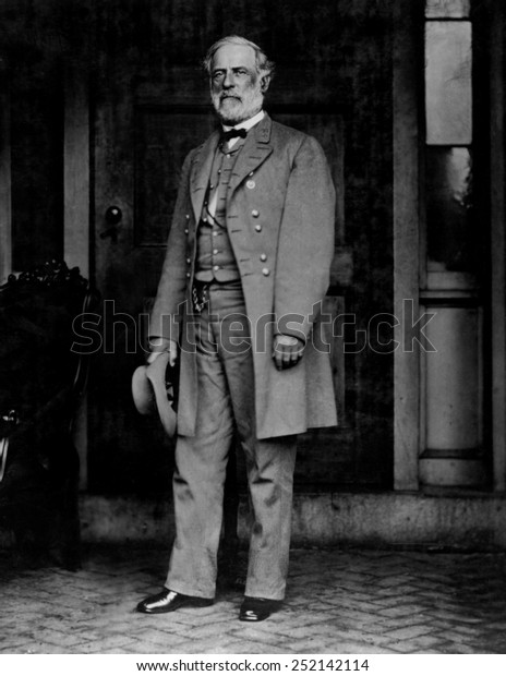 ROBERT E. LEE, General for the Confederacy.
