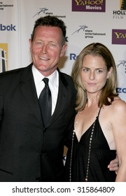 Robert Patrick and Barbara Patrick at the 2005 Hollywood Film Festival Awards Gala Ceremony held at the Beverly Hilton Hotel in Beverly Hills, USA on October 24, 2005.