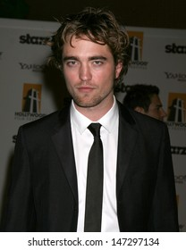 Robert Pattinson arriving to the Hollywood Film Festival Awards Gala at the Beverly Hilton Hotel in Beverly Hills, CA  on October 27, 2008