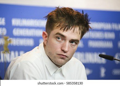Robert Pattinson attends the 'The Lost City of Z' photo call during the 67th Berlinale International Film Festival Berlin at Grand Hyatt Hotel on February 14, 2017 in Berlin, Germany