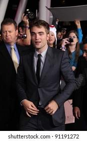 "Robert Pattinson at ""The Twilight Saga: Breaking Dawn - Part 1"" Los Angeles Premiere, Nokia Theatre L.A. Live, Los Angeles, CA 11-14-11"