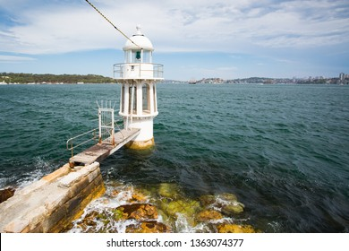 Robertson Point Light, otherwise known as Cremorne Point Light is an iconic lighthouse on Sydney Harbour in New South Wales, Australia