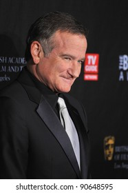 Robin Williams at the 2011 BAFTA/LA Britannia Awards at the Beverly Hilton Hotel. November 30, 2011  Beverly Hills, CA Picture: Paul Smith / Featureflash
