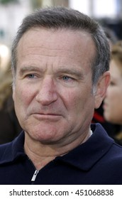 Robin Williams at the World premiere of 'Happy Feet' held at the Grauman's Chinese Theatre in Hollywood, USA on November 12, 2006.