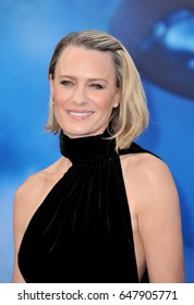Robin Wright at the Los Angeles premiere of 'Wonder Woman' held at the Pantages Theatre in Hollywood, USA on May 25, 2017.