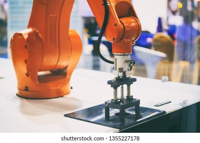 robot arm in automation production systems and computer integrated manufacturing.