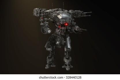 robot battle mech