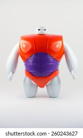Robot BAYMAX from Disney Movie BIG HERO 6, produced by Bandai #38700 #38701, 11 March 2015, in my studio, Povoa de Lanhoso