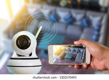 A Robot CCTV camera is technology 4.0  install signal home security system and monitoring  by smart phone all time , around the world by high speed internet.