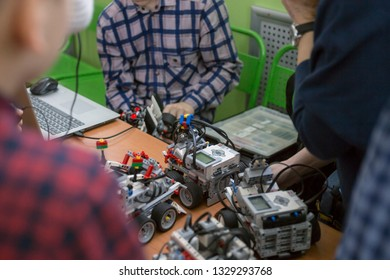 robot competition in robo sumo