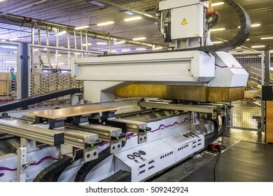 robot at furniture factory