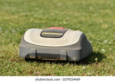 Robot Lawn Mower Images, Stock Photos & Vectors | Shutterstock