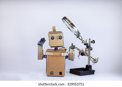 Robot is a microcircuit