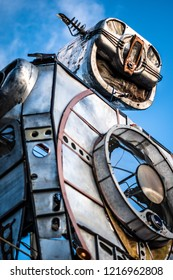 Robot Statue Art
