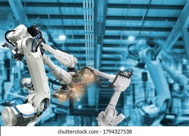 Roboterarme, Industrieroboter, Fabrikautomatisierungsmaschinen