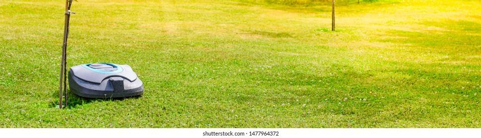 robotic lawnmower sun care for garden moder technologies