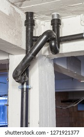 robust tubing polyethylene drainage pipes for toilets in the basement